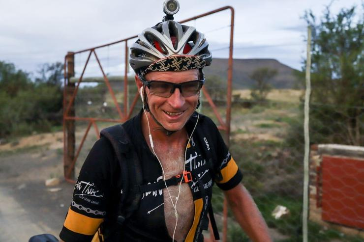 Mike Woolnough at Race to Cradock