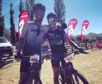 Neill Ungerer and Yolande de Villiers won the mixed team's race on stage one of the Trek2Teebus