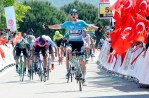 Sam Bennett won stage two of the Tour of Turkey