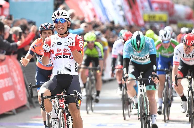 Caleb Ewan won stage three of the 2019 Tour of Turkey