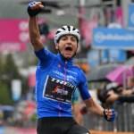 Giulio Ciccone won stage 16 of the Giro d'Italia