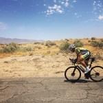 Christoph Strasser during the Race Across America