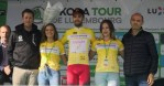 Jesus Herrade took the overall lead on stage three of the Tour de Luxembourg