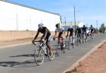 Byiza Uhiriwe won the junior men's road race on day one of the Oudtshoorn Youth Festival