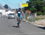 Damon Fouchee won the Criterium of Brakel