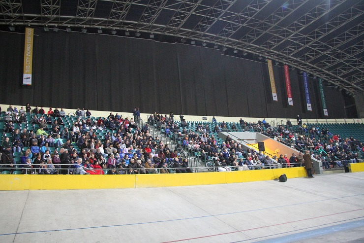 A public participation meeting was held at the Bellville Velodrom