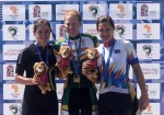 South African Maroesjka Matthee won the women's road race at the African Games