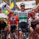 Sam Bennett won stage three of theVuelta a España