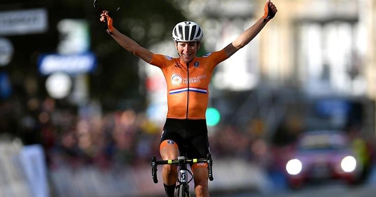 Annemiek van Vleuten won the elite women's road race at the UCI Road World Championships