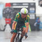 Byron Munton finished eighth in the U23 individual time-trial at the UCI Road World Championships