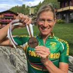 Robyn de Groot won bronze at the UCI Mountain Bike Marathon World Championships