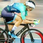 Maroesjka Matthee was awarded Western Province track cycling colours