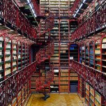 Library of the Dutch Parliament--The Hague, Netherlands