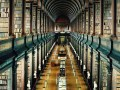 Trinity College Library at University of Dublin--Dublin, Ireland