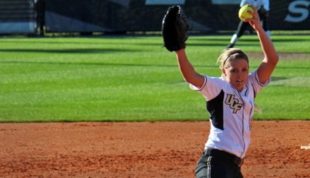 Huhn was part of 2 American Conference Regular season titles, 3 NCAA Tournament teams ( photo Courtesy of UCF Athletics)