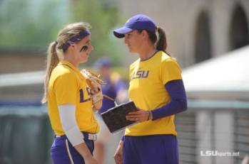 Fico played for Beth Torina at LSU from 2012-2013. Photo Courtesy of LSU