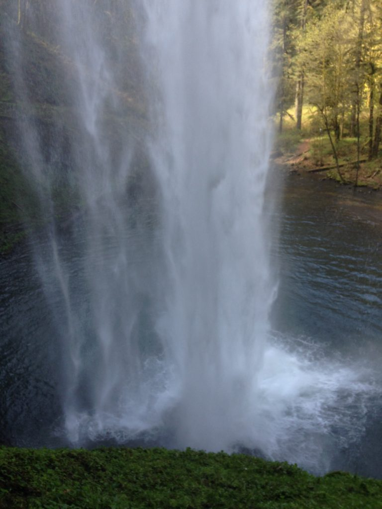 Behind South Falls- Silver Falls State Park