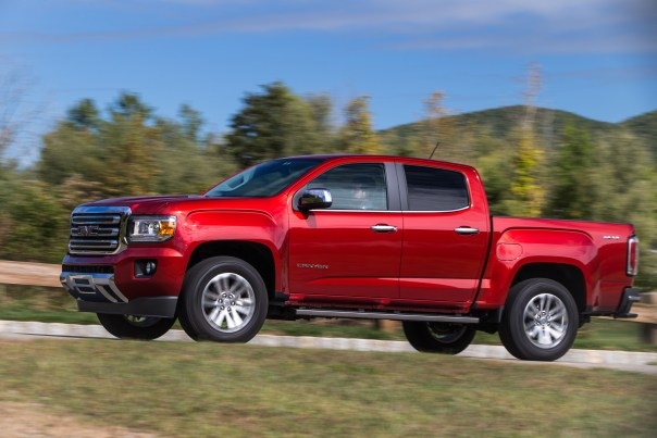 2016 GMC Canyon SLT Diesel. © General Motors.