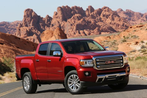 2016 GMC Canyon © General Motors.