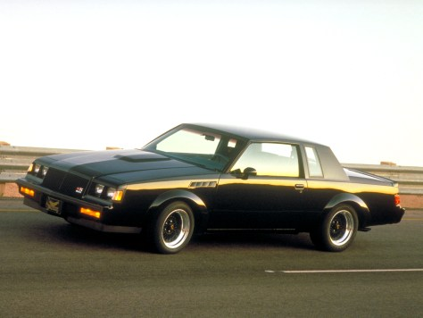 Only 547 examples of the 1987 Buick GNX were built – a limited-production salute and send-off for the groundbreaking Grand National. © General Motors.