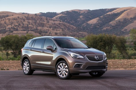 2016 Buick Envision Front 3/4 © General Motors.