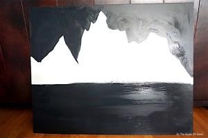 #accentwall #mural #mountaintheme #mountainthememural #benjaminmoorepaint #adventuretheme #kidroom #DIY #art #painting #paintingtutorial