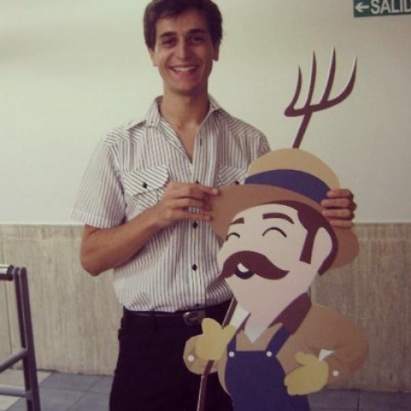 Yo con Ordoñez