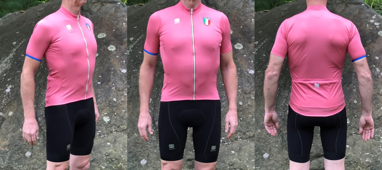 Something about that pink jersey motivates me to climb better 83cc082ce