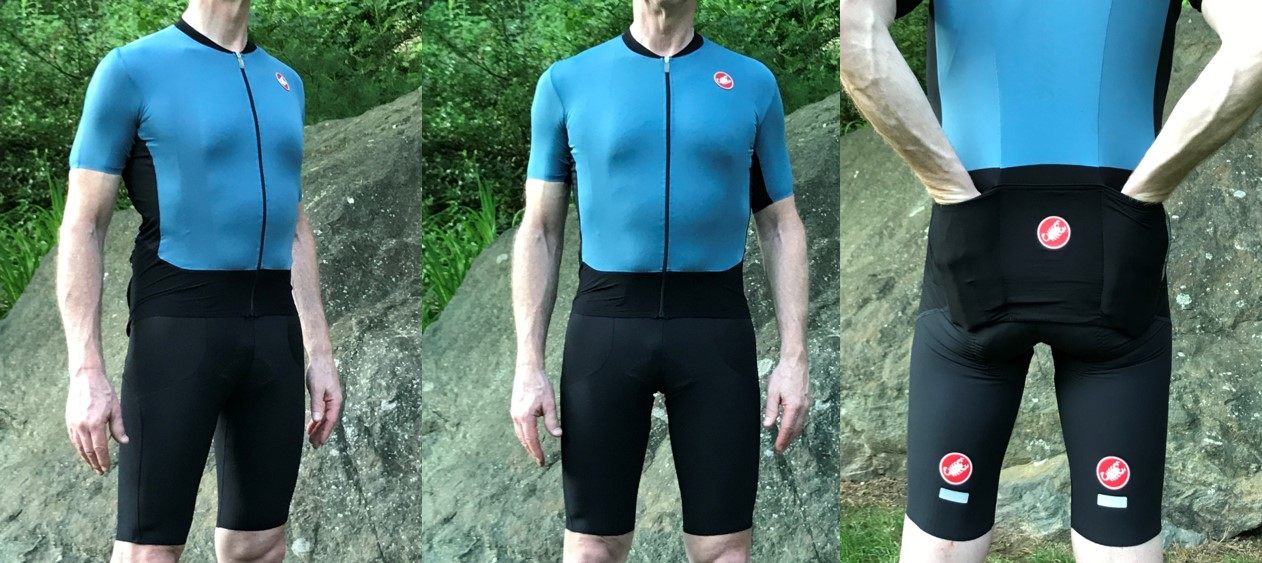 The Castelli endurance kit – RS Superleggera jersey with deep pockets and  Premio bib shorts with long legs 11771176a