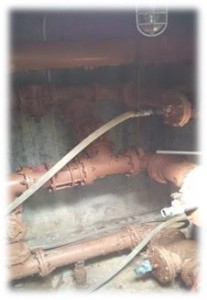 existing valve pit