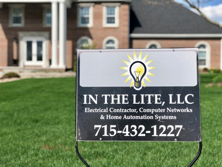 In The Lite | Yard Sign