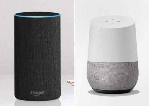 Virtual Assistants - Google and Amazon Alexa