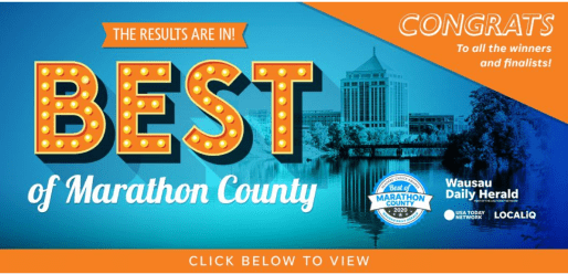 Best of Marathon County Awards Banner