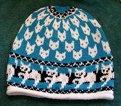 free cat knitting patterns # 64
