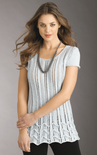 Tops Tanks Tees Free Knitting Patterns In The Loop