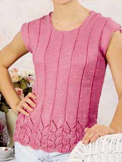 Summer Sweater Knitting Patterns Mysummerjpg