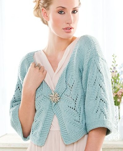Short Sleeve Cardigan Knitting Patterns | In the Loop Knitting