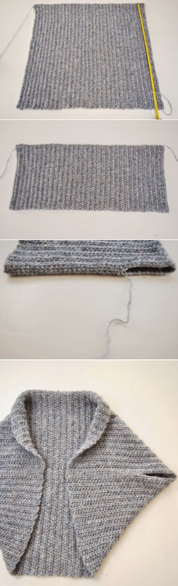 One Piece Fold and Seam Knitting Patterns | In the Loop ...