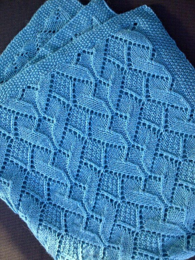 Free Leaf Square Baby Blanket Knitting Pattern Zoshwiki