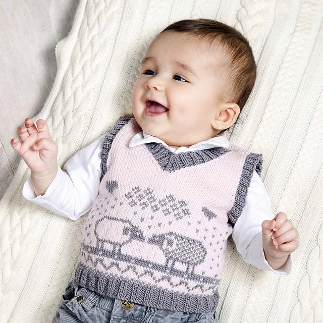 Knit Or Crochet Vest Pattern