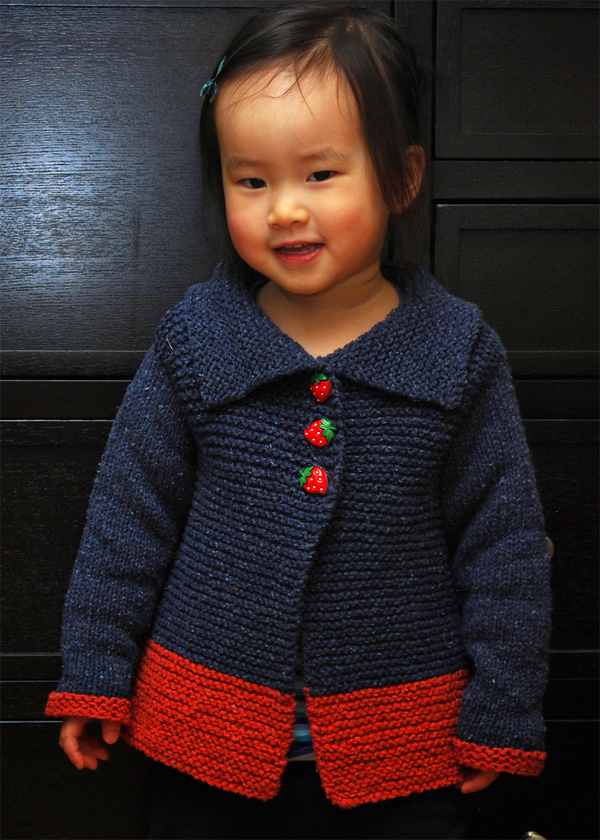 Quick Knit Baby Sweater Pattern