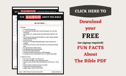 How we got the bible printable