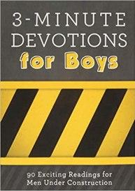 3 minute devotional for boys