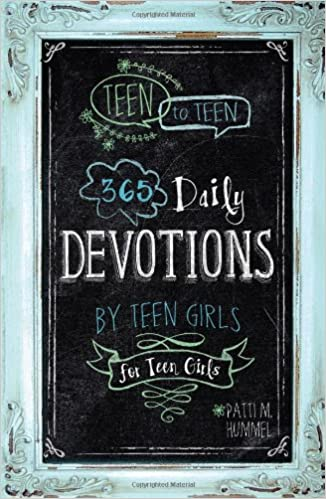 one year devotional for teen girls