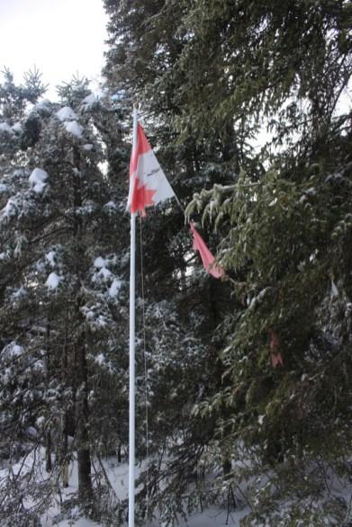 Côte de Salzbourg – Kanada-Flagge