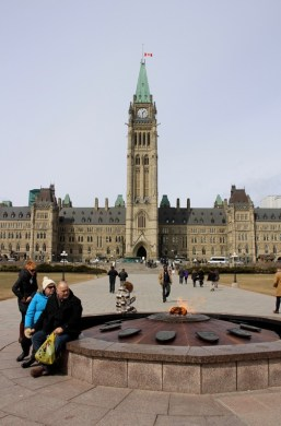Parliament Hill – Zentraler Block