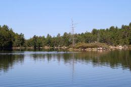 Reflektieren auf dem Grace Lake