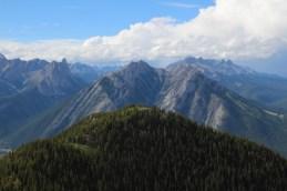 Sulphur Mountain Aussicht