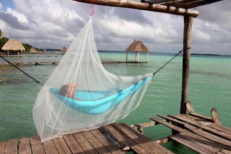 Entspannen am Pier