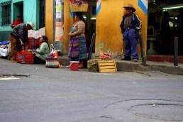 Straßenmarkt in Santa Cruz del Quiché - Guatemala